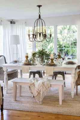 44 Beautiful Farmhouse Dining Room Table Design Ideas