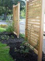 44 DIY Backyard Privacy Fence Design Ideas on A Budget