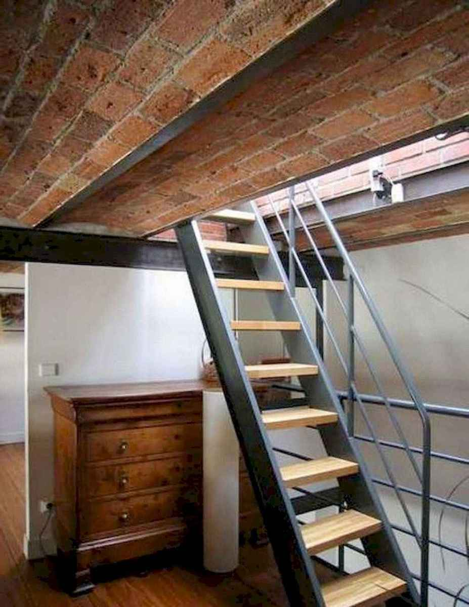 45 Clever Loft Stair Design for Tiny House Ideas
