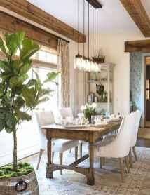 46 Beautiful Farmhouse Dining Room Table Design Ideas