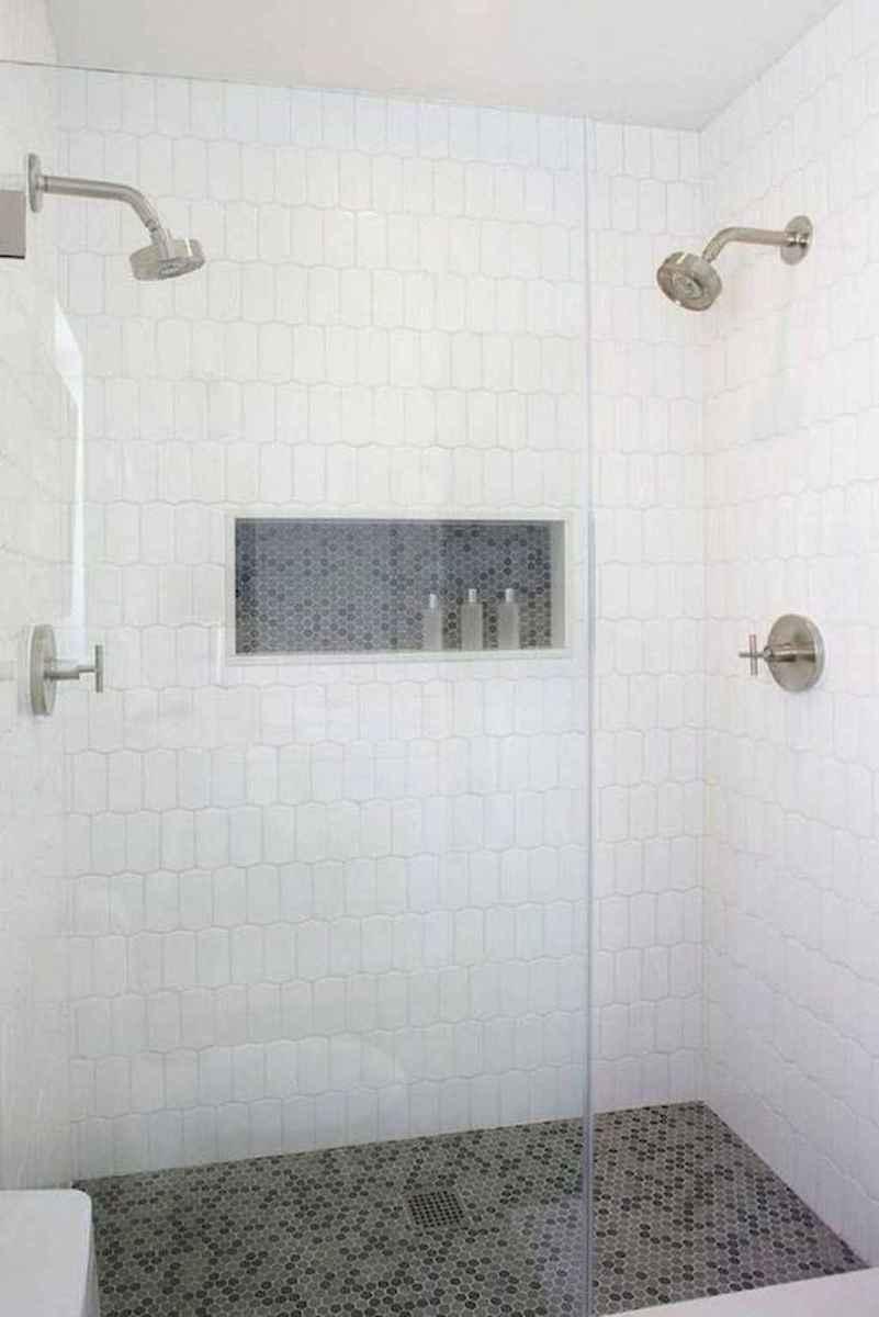 46 Cool Bathroom Shower Tile Remodel Design Ideas
