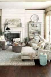 46 Cozy Modern Farmhouse Living Room Decor Ideas