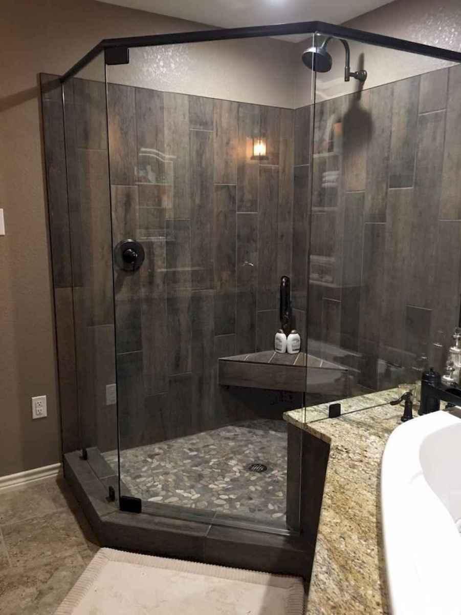 47 Cool Bathroom Shower Tile Remodel Design Ideas