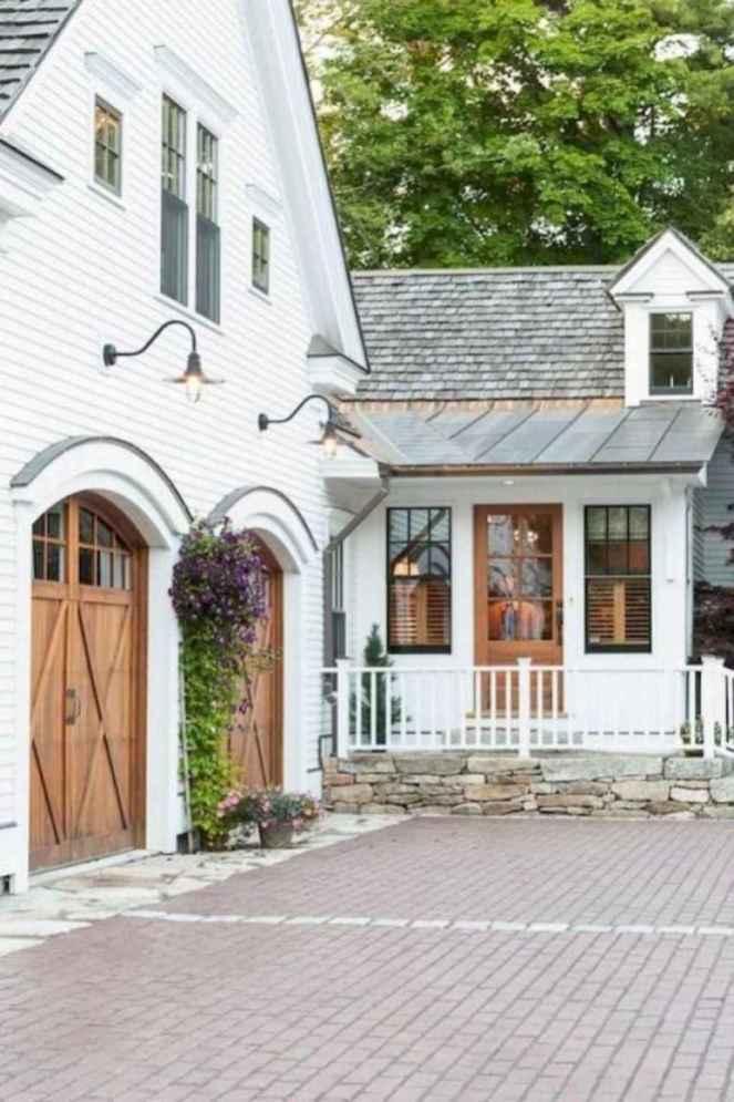 49 Awesome Modern Farmhouse Exterior Design Ideas