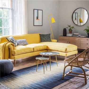 49 Beautiful Yellow Sofa for Living Room Decor Ideas