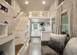 49 Clever Loft Stair Design for Tiny House Ideas