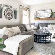 49 Cozy Modern Farmhouse Living Room Decor Ideas