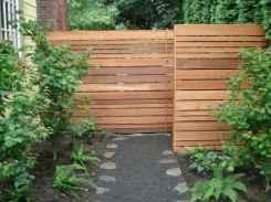 49 DIY Backyard Privacy Fence Design Ideas on A Budget