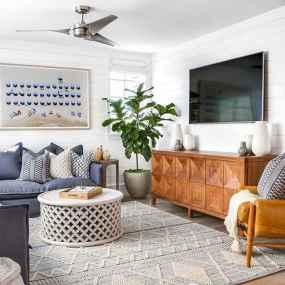 50 Beautiful Coastal Living Room Decor Ideas