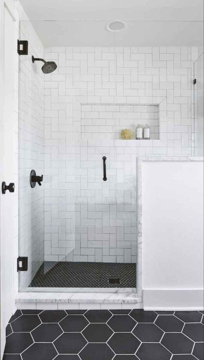 50 Cool Bathroom Shower Tile Remodel Design Ideas