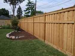 51 DIY Backyard Privacy Fence Design Ideas on A Budget