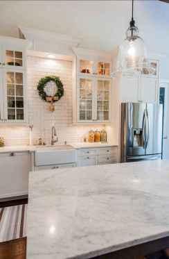 52 Beautiful Farmhouse Kitchen Backsplash Design Ideas