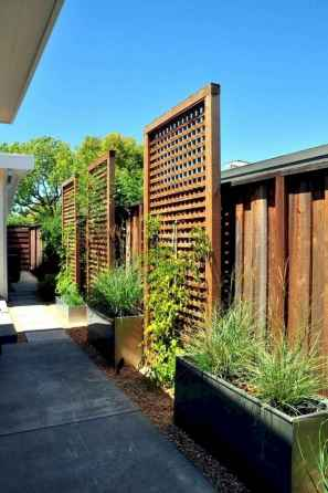 53 DIY Backyard Privacy Fence Design Ideas on A Budget