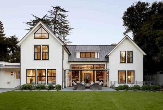 55 Awesome Modern Farmhouse Exterior Design Ideas