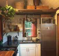 55 Tiny House Kitchen Storage Organization and Tips Ideas