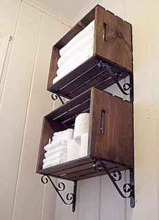 56 Smart Small Bathroom Storage Organization and Tips Ideas