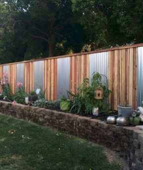 58 DIY Backyard Privacy Fence Design Ideas on A Budget