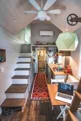 58 Tiny House Kitchen Storage Organization and Tips Ideas