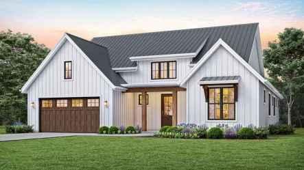 61 Awesome Modern Farmhouse Exterior Design Ideas