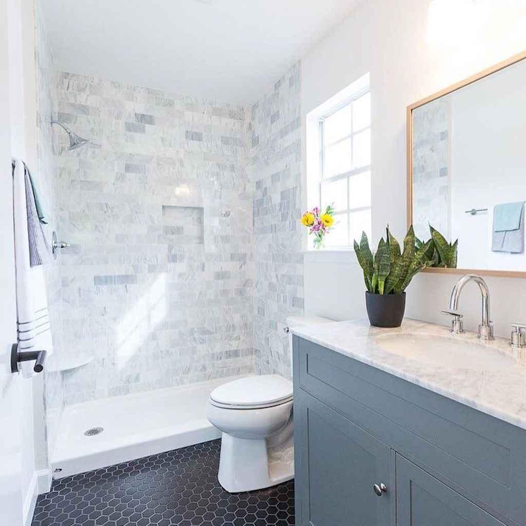 61 Cool Bathroom Shower Tile Remodel Design Ideas