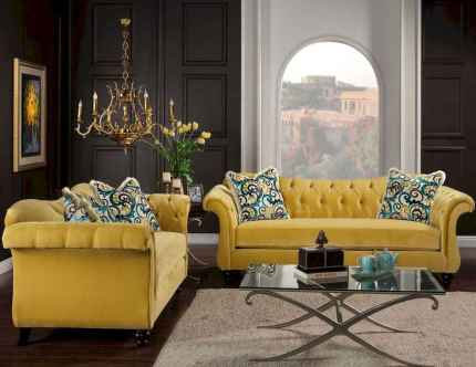 63 Beautiful Yellow Sofa for Living Room Decor Ideas