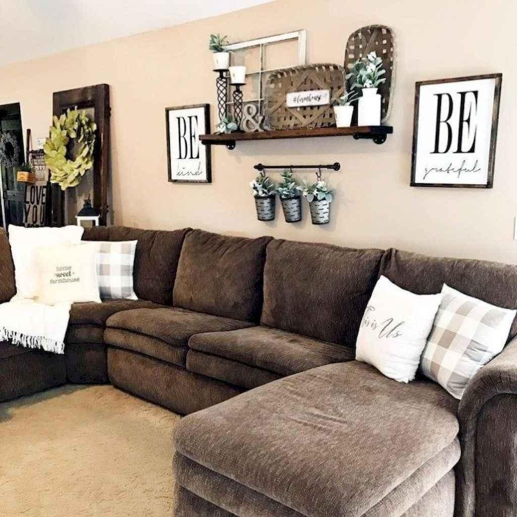 63 Cozy Modern Farmhouse Living Room Decor Ideas