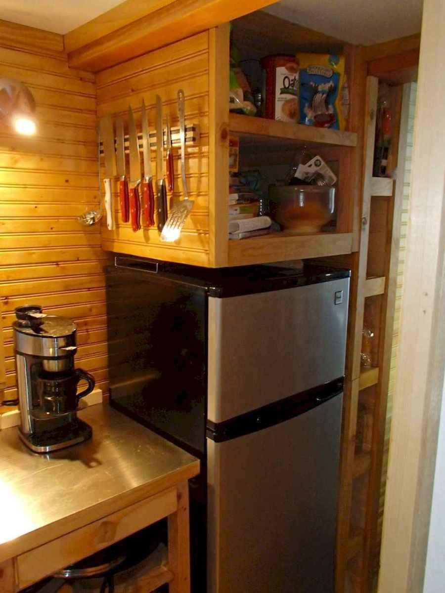 64 Tiny House Kitchen Storage Organization and Tips Ideas