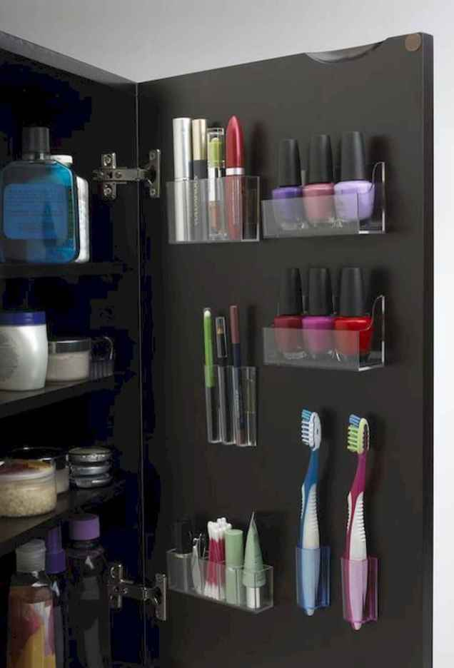 65 Smart Small Bathroom Storage Organization and Tips Ideas