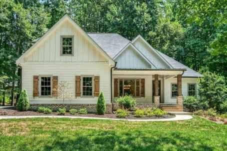67 Awesome Modern Farmhouse Exterior Design Ideas
