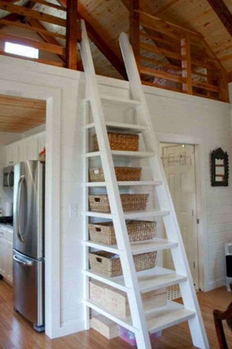 67 Clever Loft Stair Design for Tiny House Ideas