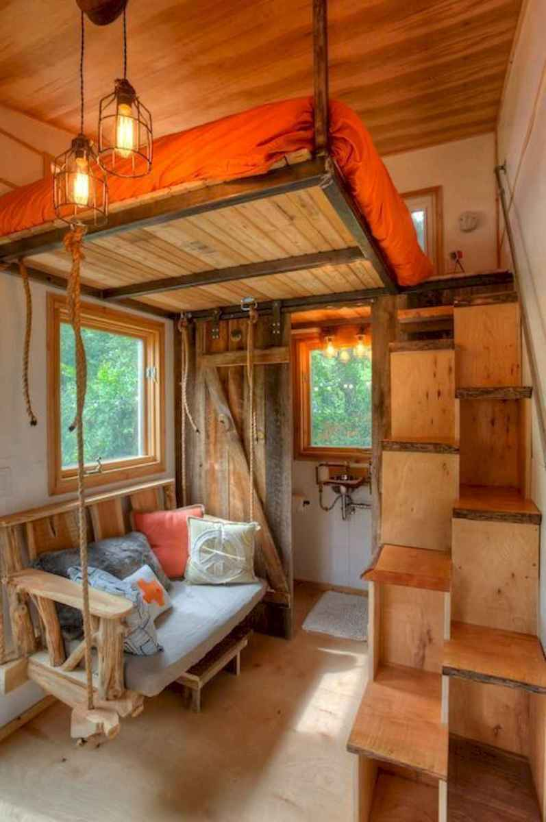 69 Clever Loft Stair Design for Tiny House Ideas