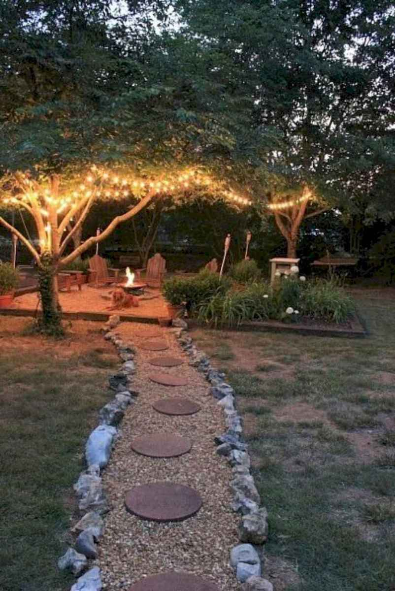 02 Easy Backyard Fire Pit with Cozy Seating Area Ideas