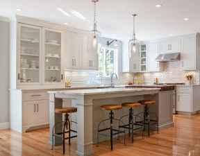 02 Functional Farmhouse Kitchen Island Design Ideas