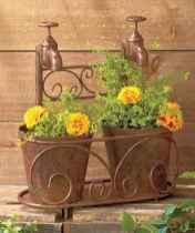 03 Inspiring Faucet Garden Decor for Front and Backyard Ideas