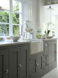 04 Incredible Farmhouse Gray Kitchen Cabinet Design Ideas