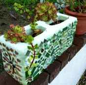 05 Excellent DIY Mosaic Garden Decoration Ideas for Front and Backyard Landscaping