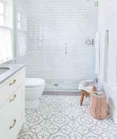 06 Awesome Farmhouse Bathroom Tile Floor Decor Ideas