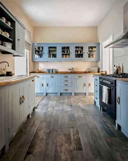 06 Incredible Farmhouse Gray Kitchen Cabinet Design Ideas
