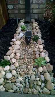 07 Awesome Front Yard Rock Garden Landscaping Ideas