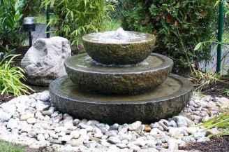 07 Unique Backyard Garden Water Feature Landscaping Ideas