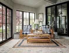 08 Cozy Farmhouse Sunroom Decor Ideas