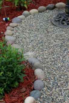 09 Awesome Front Yard Rock Garden Landscaping Ideas