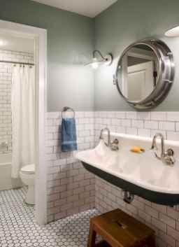 14 Awesome Farmhouse Bathroom Tile Floor Decor Ideas