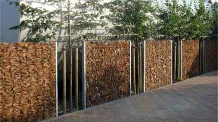 20 Fabulous Gabion Fence Design for Garden Landscaping Ideas