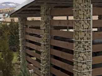 21 Fabulous Gabion Fence Design for Garden Landscaping Ideas