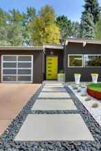 22 Awesome Front Yard Rock Garden Landscaping Ideas