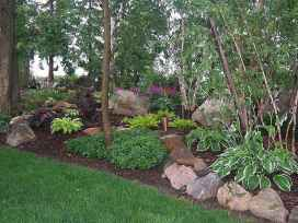 29 Awesome Front Yard Rock Garden Landscaping Ideas