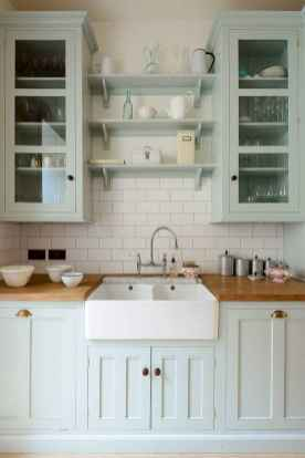 32 Incredible Farmhouse Gray Kitchen Cabinet Design Ideas