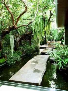 35 Unique Backyard Garden Water Feature Landscaping Ideas