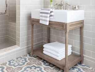 36 Awesome Farmhouse Bathroom Tile Floor Decor Ideas